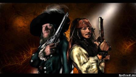 Two Captains by KomyFlyinc@2013 by KomyFly