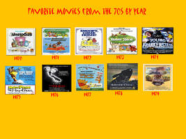 Favorite 1970s Films By Year by Jdailey1991