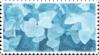 aqua blue crystal stamp 2 by GlacierVapour