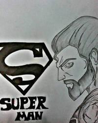 Superman by dhrubo2002
