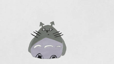 Totoro by Jxudo