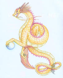 Chinese Dragon Goddess by oakendragon