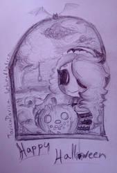 Secured the Pumpkin patch [Halloween] by bebinaflasica