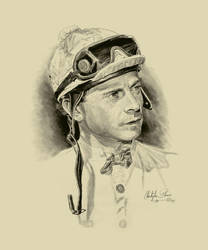 Jockey C. McCarron by Paluso4art