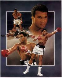 Muhammed Ali by Paluso4art