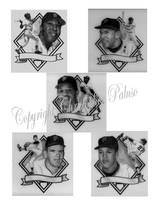 SF Giants Hall of Fame members by Paluso4art