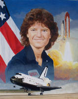 Sally Ride, Astronaut by Paluso4art