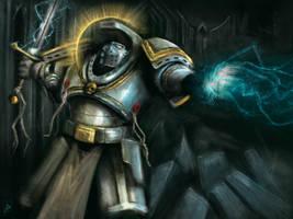 Grey Knight speedpaint by Filip-Hammer