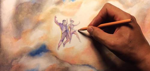 Hand drawn Cloud by Futurum-Undam