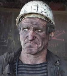 Miner (Study) by KlimN
