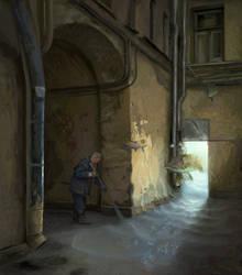 Secret courtyard by KlimN