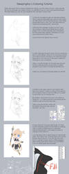 Sleepingfox's Coloring Tutorial by Sleepingfox