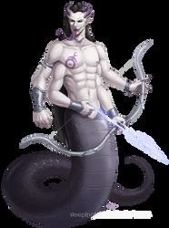 Malithkari the Heartseeker by Sleepingfox