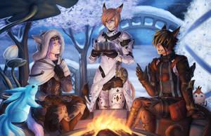 FFXIV: Starlight by Sleepingfox