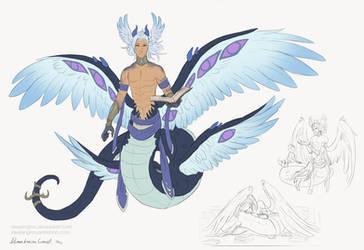 Demon Lucine Concept by Sleepingfox