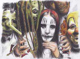 Slipknot by atergnetic