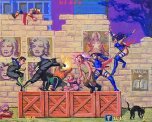 Super Ninja Saga #1 by Hieromagus