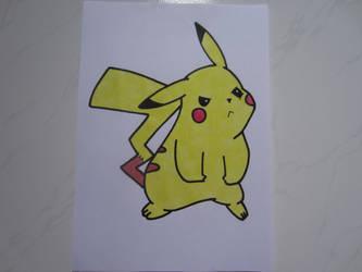 Pikachu 008 by charlenequek