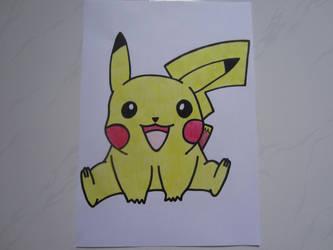 Pikachu 007 by charlenequek