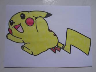 Pikachu 006 by charlenequek