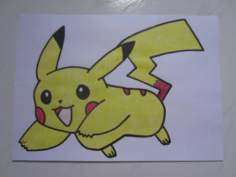 Pikachu 005 by charlenequek