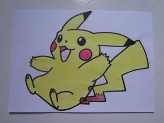 Pikachu 004 by charlenequek