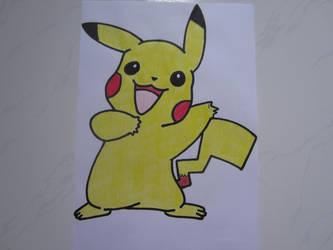 Pikachu 002 by charlenequek