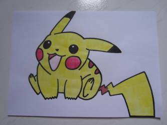 Pikachu 001 by charlenequek