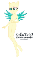 EqG Crystal Guardian Fluttershy Base 07 by CookieChanS2