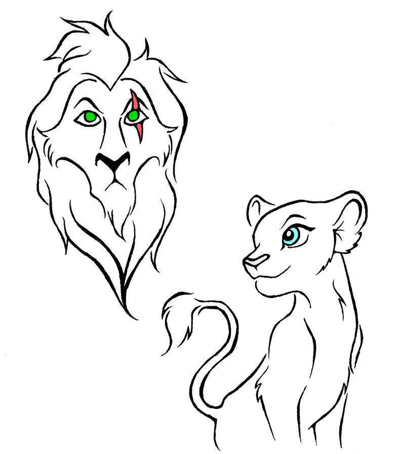 Lion King Tattoo Designs By Kattfloka On Deviantart