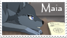Maia stamp by ViStarkiller