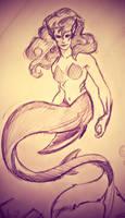 Sharkmaid by thereina