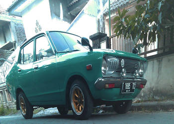 Mini Datsun 120y 1975 by clostrophobic
