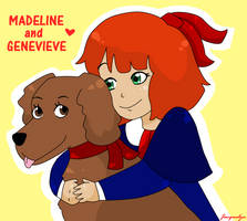 Madeline and Genevieve by Jackie-lyn
