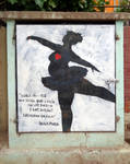 street art / _dancer by Johnny-Aza