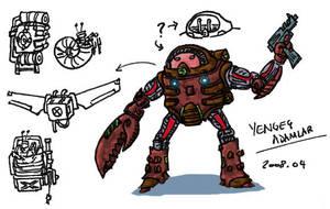 Crab Man by bmkorkut