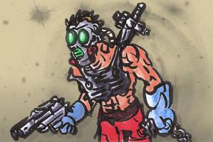Raider Sketch by bmkorkut