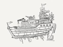Ship Happens by bmkorkut