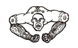 Mr Mechanic Muscle by bmkorkut