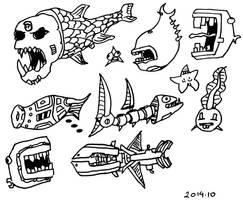 Fish Fish by bmkorkut