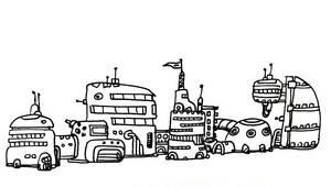 Space Buildings by bmkorkut