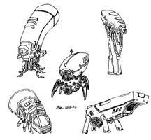 Some Robots by bmkorkut