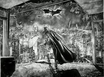 The Dark Knight by rennyren