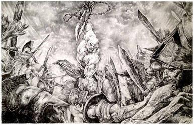 God Of War by rennyren