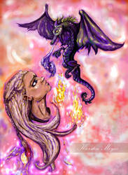 Mother of Dragons by rennyren