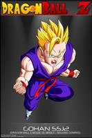Dragon Ball Z - Gohan SSJ2 M10 by DBCProject