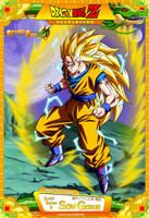 Dragon Ball Z - Super Saiyan 3 Son Gokuh by DBCProject