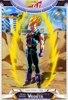 Dragon Ball GT - Super Saiyajin Vegeta by DBCProject