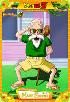 Dragon Ball Z - Kame Sennin (Muten Roshi) by DBCProject