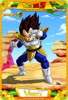 Dragon Ball Z - Vegeta by DBCProject